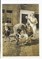 Margaret & Lyn Martin with Wyn, The Moor.