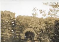 Inside Loch Doon Castle