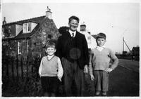 Doug, Hugh and Tony Martin on Carsphairn Street