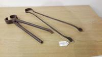Blacksmith's Pincers & pair Tongs