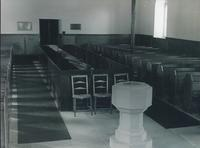 Church interior - pews