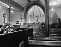 Church interior 1960