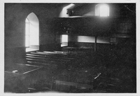 Miner's gallery, Carsphairn Church