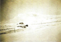 Deuch School in the heavy snow of 1935