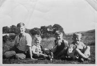 Martin Boys, The Crofts, Bob, Michael, Tony and Doug circa 1949.