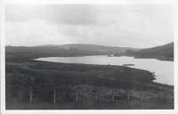 Kendoon Loch and Amdarroch from Knowehead