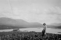 May Sloan at Loch Doon