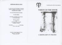 Through the Door – original poetry, 1998