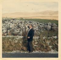 Hugh Martin, visiting Carsphairn ca 1968.