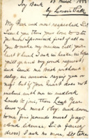Valentine's letter