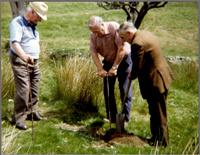 Trip to Woodhead Mine 1988; Willie Dickson, John Hastings & Jimmy Stewart