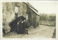 Mrs Wilson & grandson Jim Belford