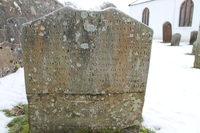 Kirkyard gravestone 231
