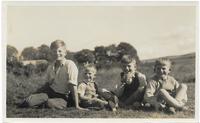 Four Martin boys, The Crofts