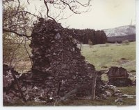 Remains of school at Woodhead lead mine