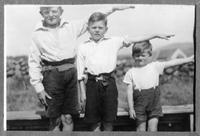 Bob, Tony and Doug Martin ca 1944-45