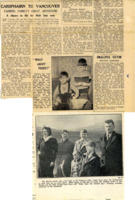 Newspaper article re Martin family emigrating