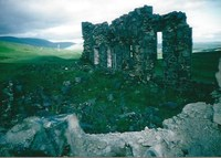 Ruins of the School at Woodhead Leadmines - taken in mid 1990's