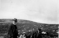 Sam Wilson, May Sloan, Rob Wilson on Cairnsmuir