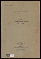 Catalogue of auction of part of Craigengillan Estate 1919