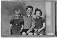 Wyn, Jim and Margaret Martin, children of James and Mary Martin