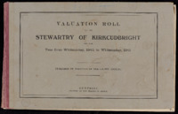Valuation Rolls for Stewartry 1940-41