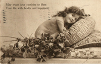 Post card to Miss Baby Lawrence