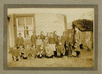 Carsphairn School pupils taken on Show Day 1922 Teacher Mr Singleton.