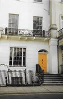 House in Leamington Spa once belonged to Col McAdam Cathcart. colour