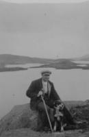 T Fergusson, of Buchan, at Loch Enoch